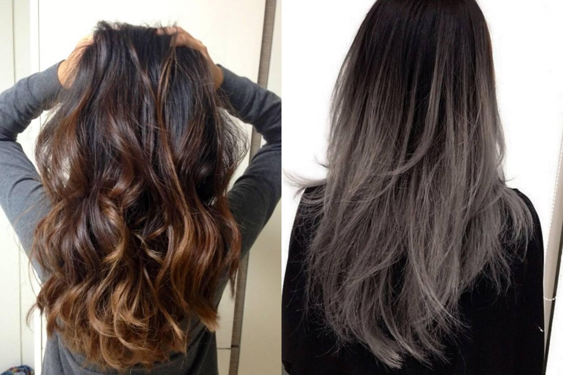 Брондирование на темные и светлые волосы фото до и после