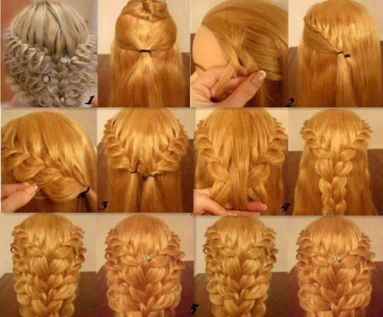Как заплести объемную косу: 10 вариантов причесок