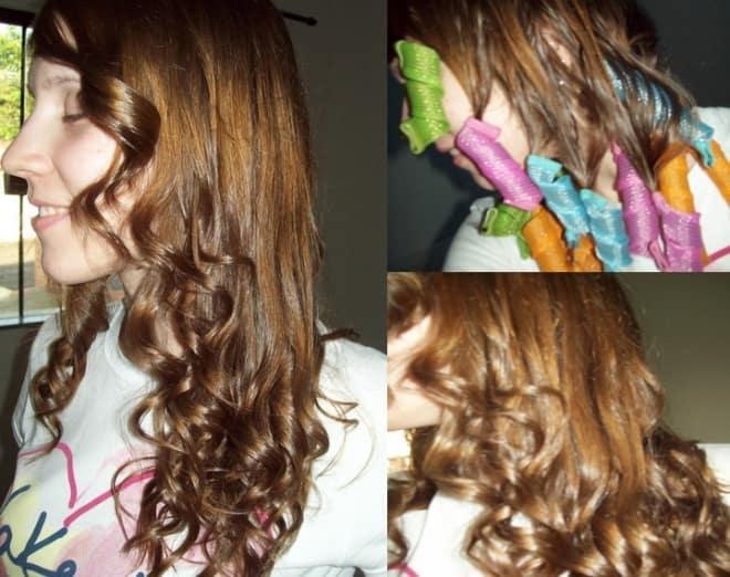 Пошаговая инструкция с фото: как пользоваться бигуди-папильотками, чтобы накрутить волосы правильно?