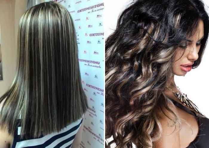 Мелирование на окрашенные волосы разных типов