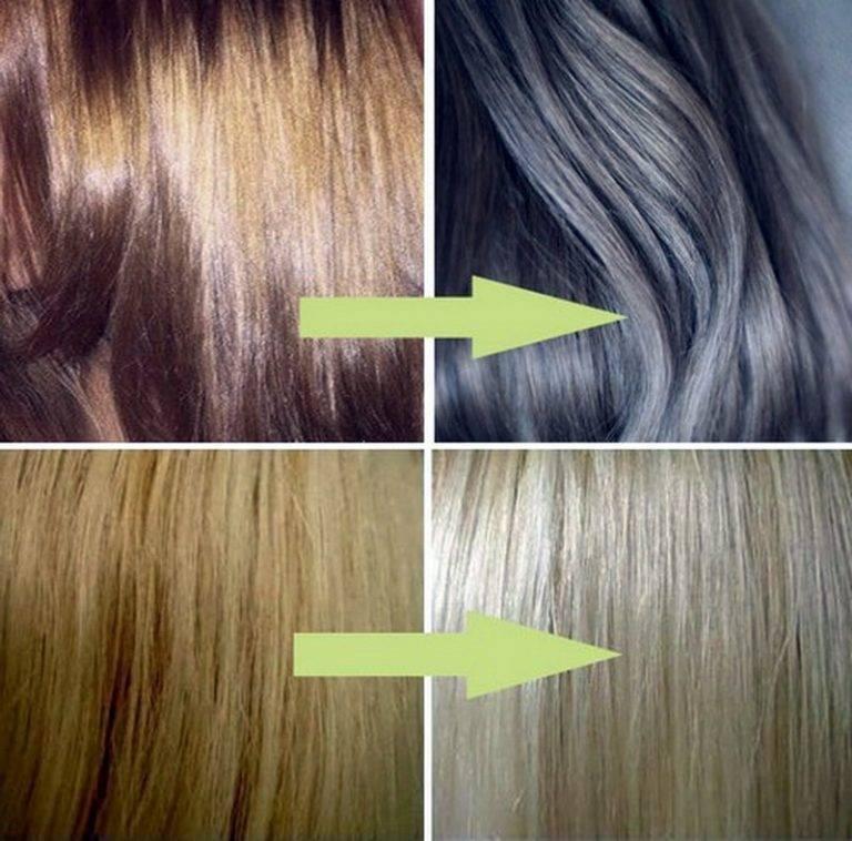 Какой краской осветлить волосы без желтизны?