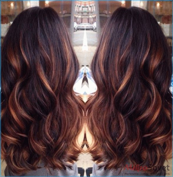 Особенности техники красного омбре на темные волосы для создания колоритного образа