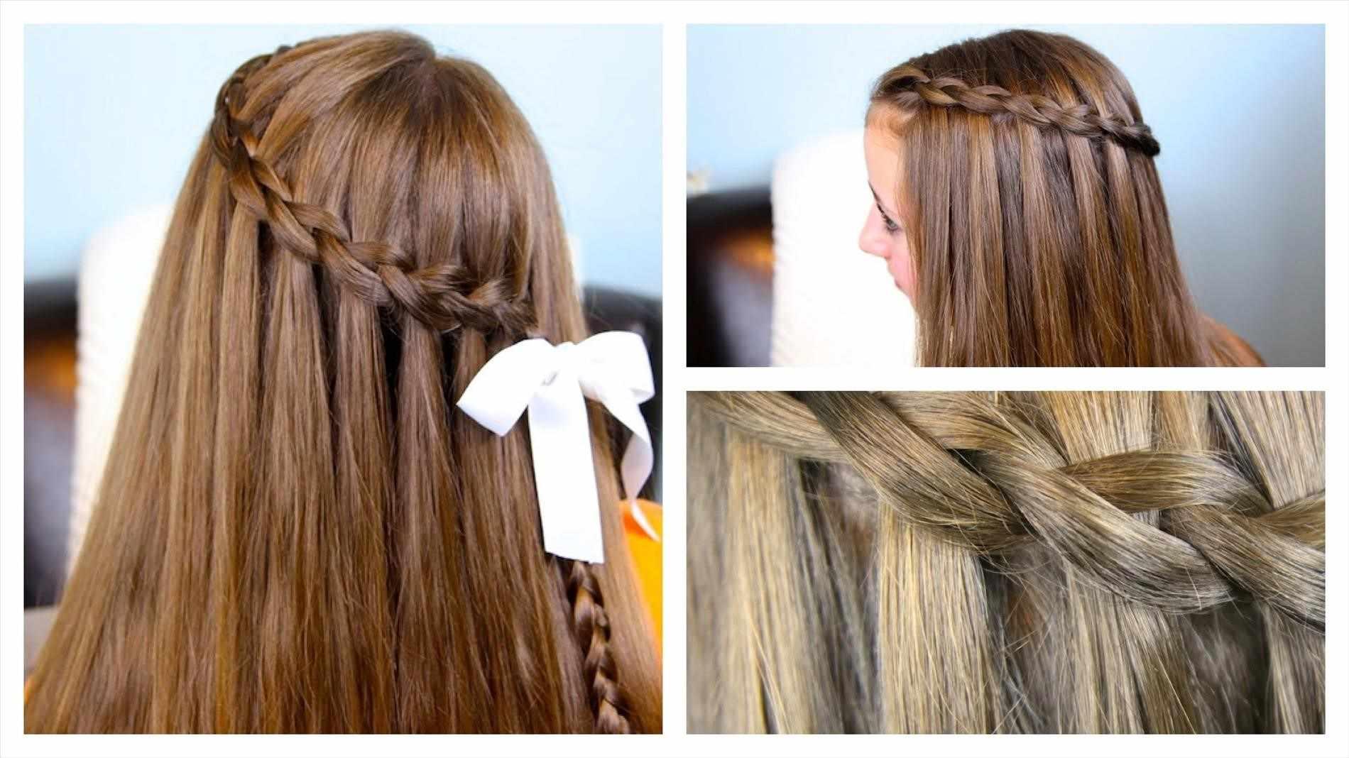 Прическа водопад с кудрями: пошаговая инструкция на длинные волосы
