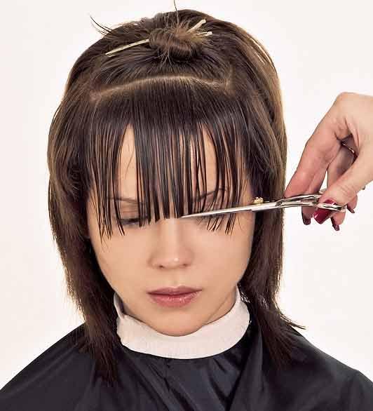 Рваная челка (83 фото): особенности градуированной челки и других видов, подходят ли они девушкам с длинными, короткими и средними волосами? как подстричь челку в домашних условиях?