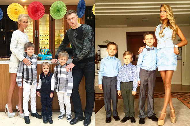 Жена павла погребняк — мария шаталова: до и после пластики, биография жены футболиста и фото пары с детьми