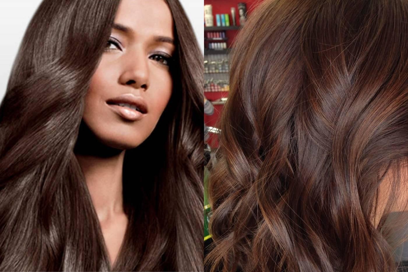 Hothair.ru - каштановый цвет волос: кому идет и как получить?