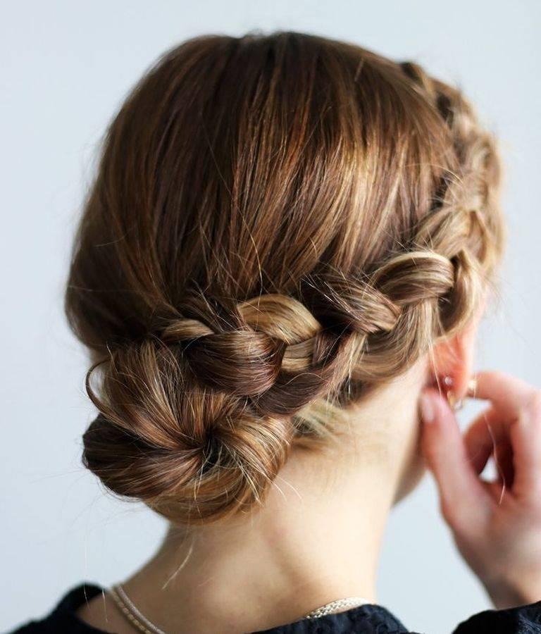 Прически с косичками для длинных и коротких волос