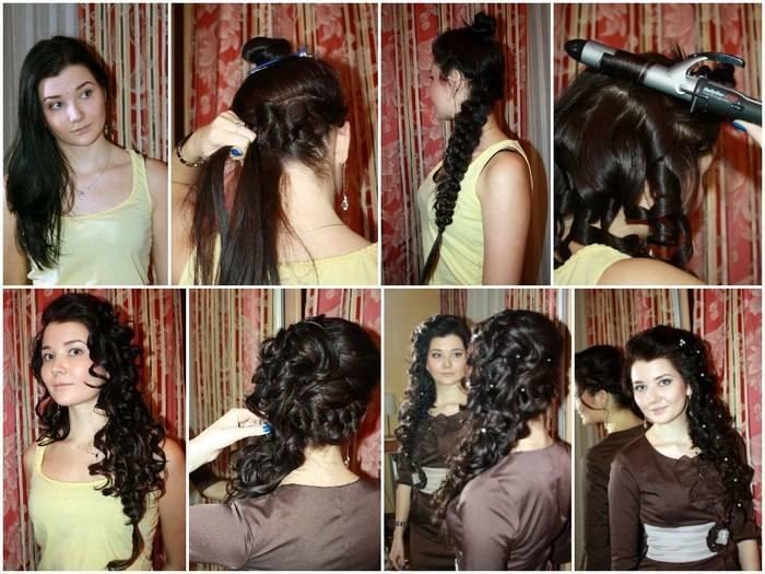 Локоны на длинные волосы разными способами: справимся сами!