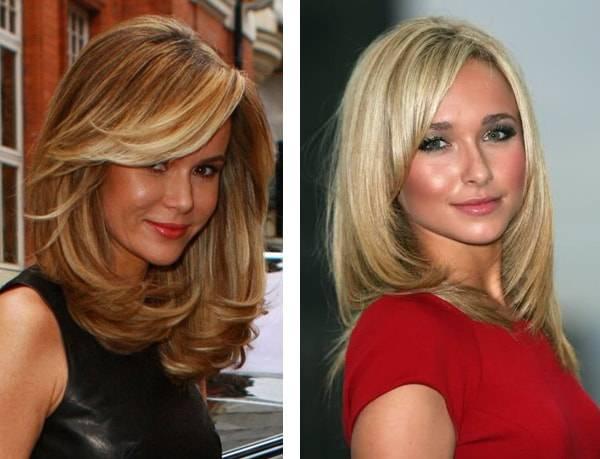 Градуированное каре: фото на средние и короткие волосы, виды стрижки, варианты укладки