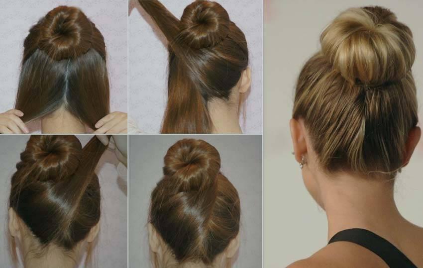 Как сделать ванильный пучок на голове пошагово. ванильный пучок на короткие, средние, длинные волосы. как сделать ванильный пучок из волос на голове пошагово с фото
