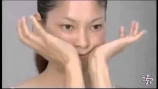 Японская омолаживающая гимнастика асахи для лица