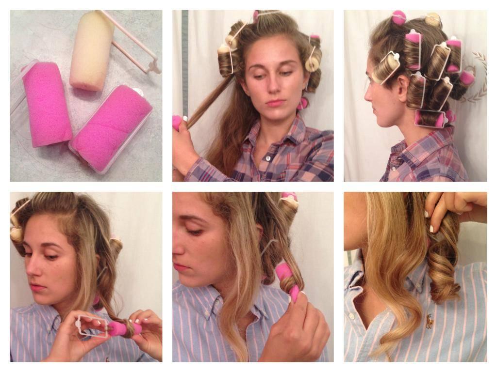Легкие локоны на длинные волосы в домашних условиях