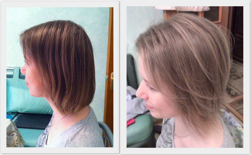 Прически колорирование на короткие волосы. кому что идет. как процедура проводится в салоне: видео