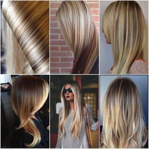 Все виды мелирования волос с фото и техниками выполнения
