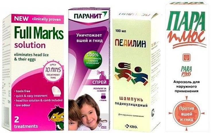 Эффективные препараты от вшей и гнид: лечение в домашних условиях