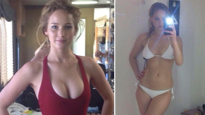 Дженнифер лоуренс до и после пластики