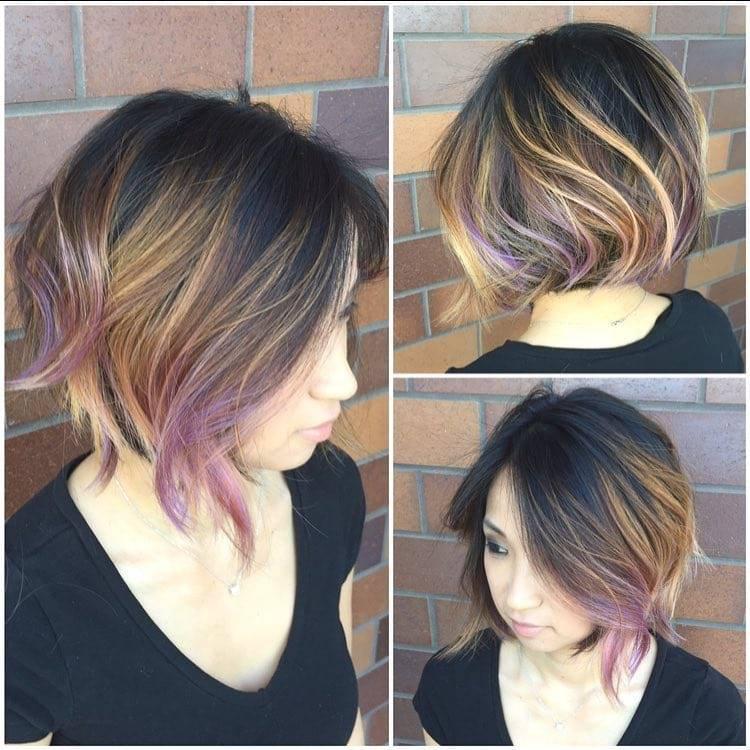 Покраска волос в стиле балаяж: делаем эффектные осветленные концы