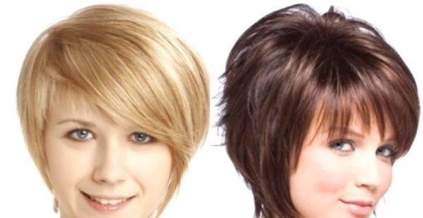 Стрижка «боб» для круглого лица (38 фото): удлиненный вариант с челкой, асимметричная прическа для тонких волос