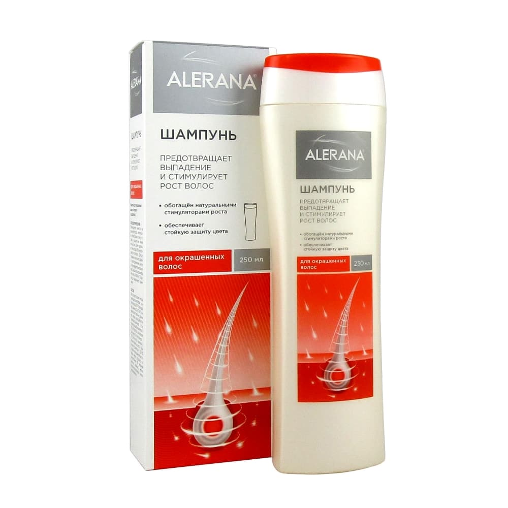 Алерана (alerana) шампунь для роста волос для женщин и мужчин: состав и инструкция по применению