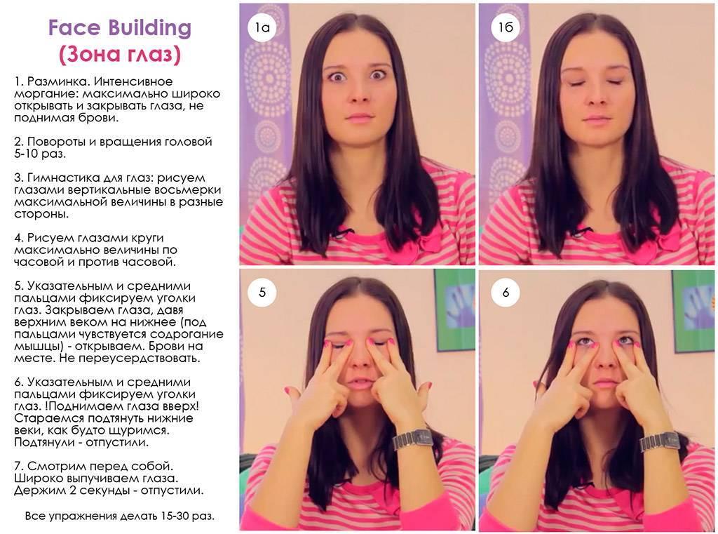 Фейсбилдинг для лица - уроки и упражнения