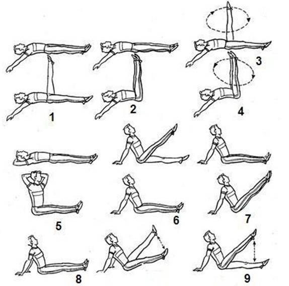 Как похудеть в ногах — упражнения и диета?