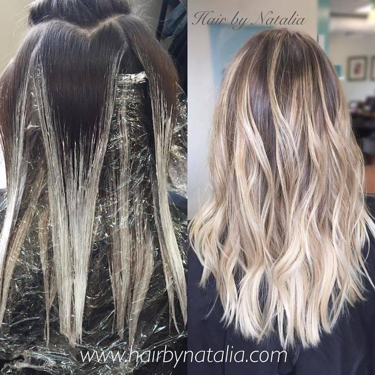 Плавный переход от темного к светлому на волосах – что это такое, виды окрашивания, как оно делается