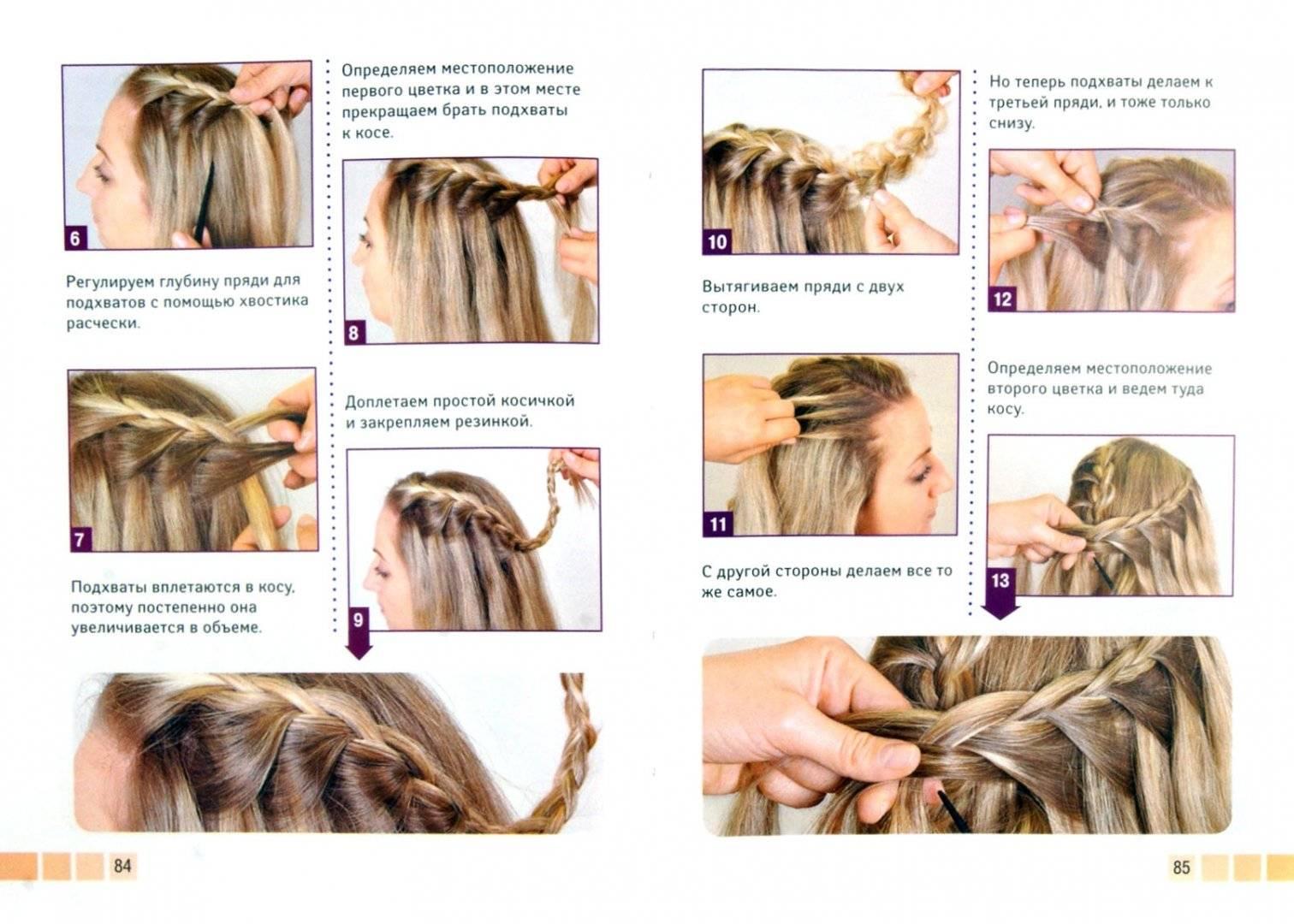 Заплетаем косы самой себе: 20 способов для начинающих