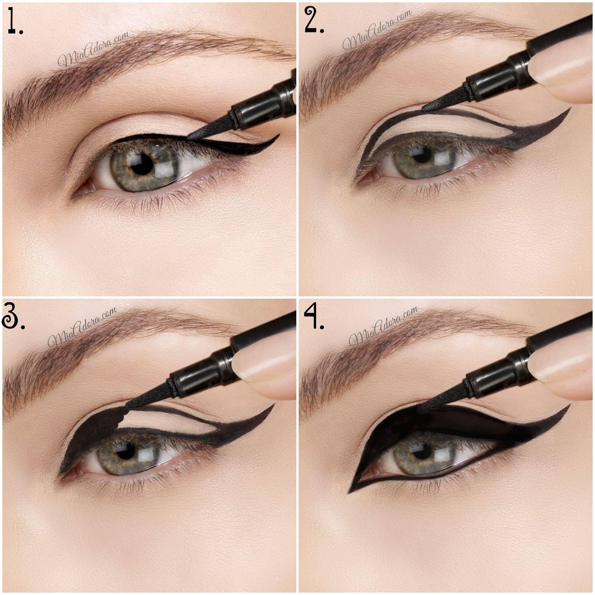 Правильные стрелки на глазах: как рисовать стрелки для глаз, фото стрелок на глазах