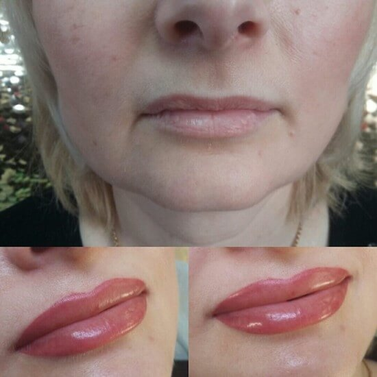 Как делают татуаж губ – фото до и после, отзывы, возможные последствия