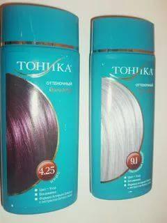 """Вредна ли """"тоника"""" для волос - мнение специалистов. оттеночный бальзам для волос """"тоника"""": состав, палитра, отзывы"""
