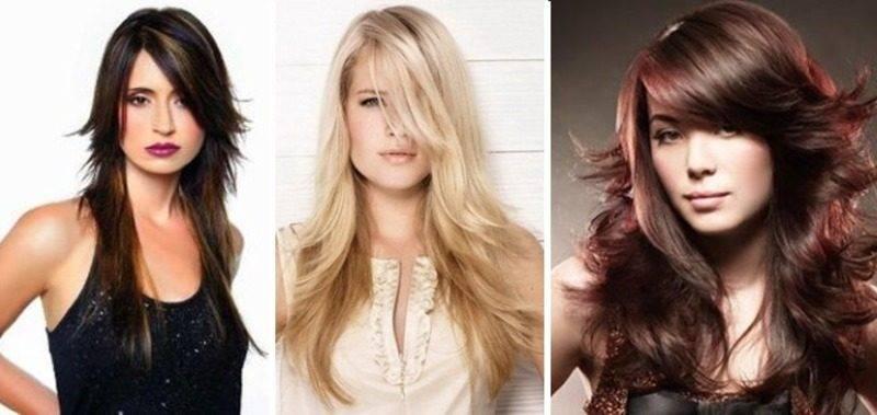 Каскад с челкой: модные тенденции для разных типов волос, фото