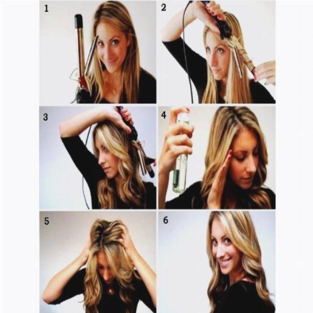 Как завить утюжком короткие волосы: варианты укладок, пошаговое руководство