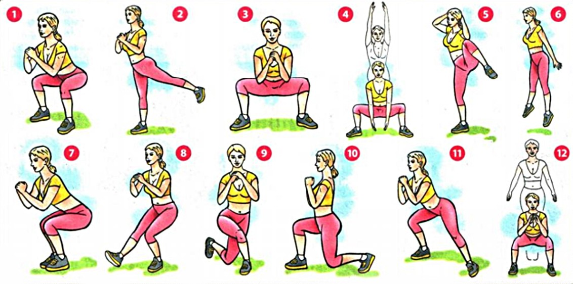 Упражнения для похудения ног: какие нужно делать, тренировка в домашних условиях и в тренажёрном зале для ляжек (бёдер), икр, быстро и эффективно