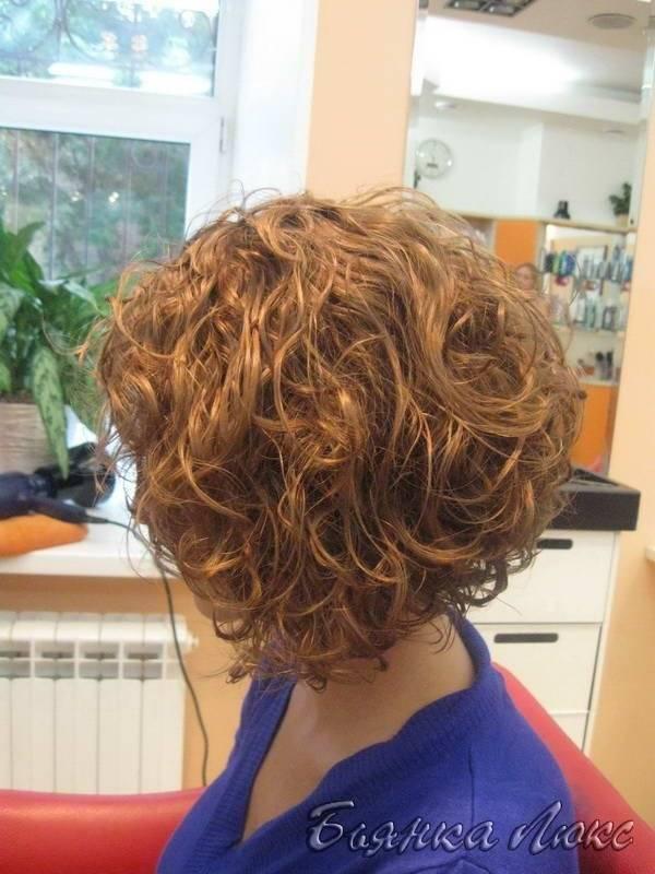 Долговременная укладка волос (карвинг)