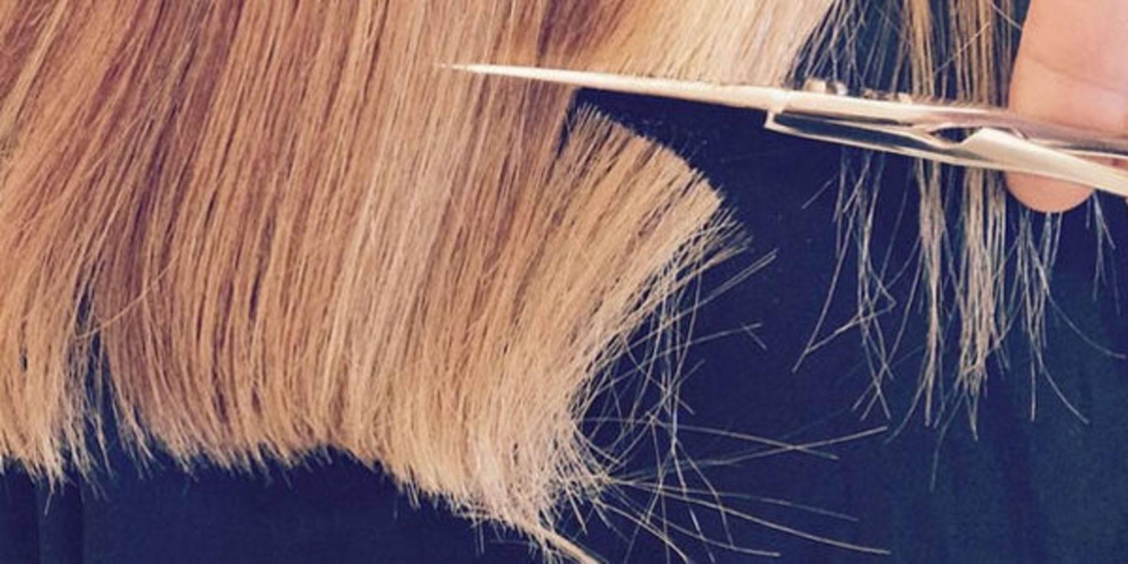 Как самой себе правильно и ровно подстричь секущиеся концы волос дома