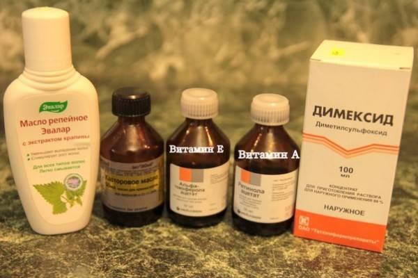 Маска для волос с димексидом в домашних условиях - рецепты и отзывы