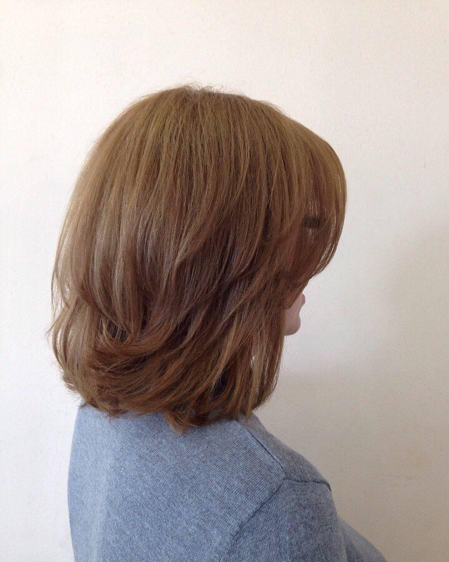 Стрижка каре каскад на короткие волосы с челкой и без + фото