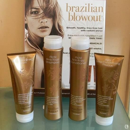 Как проходит бразильское выпрямление волос brazilian blowout?