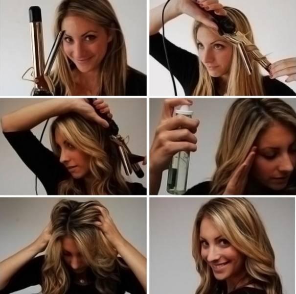 Как правильно накрутить волосы на плойку, на длинные и короткие волосы