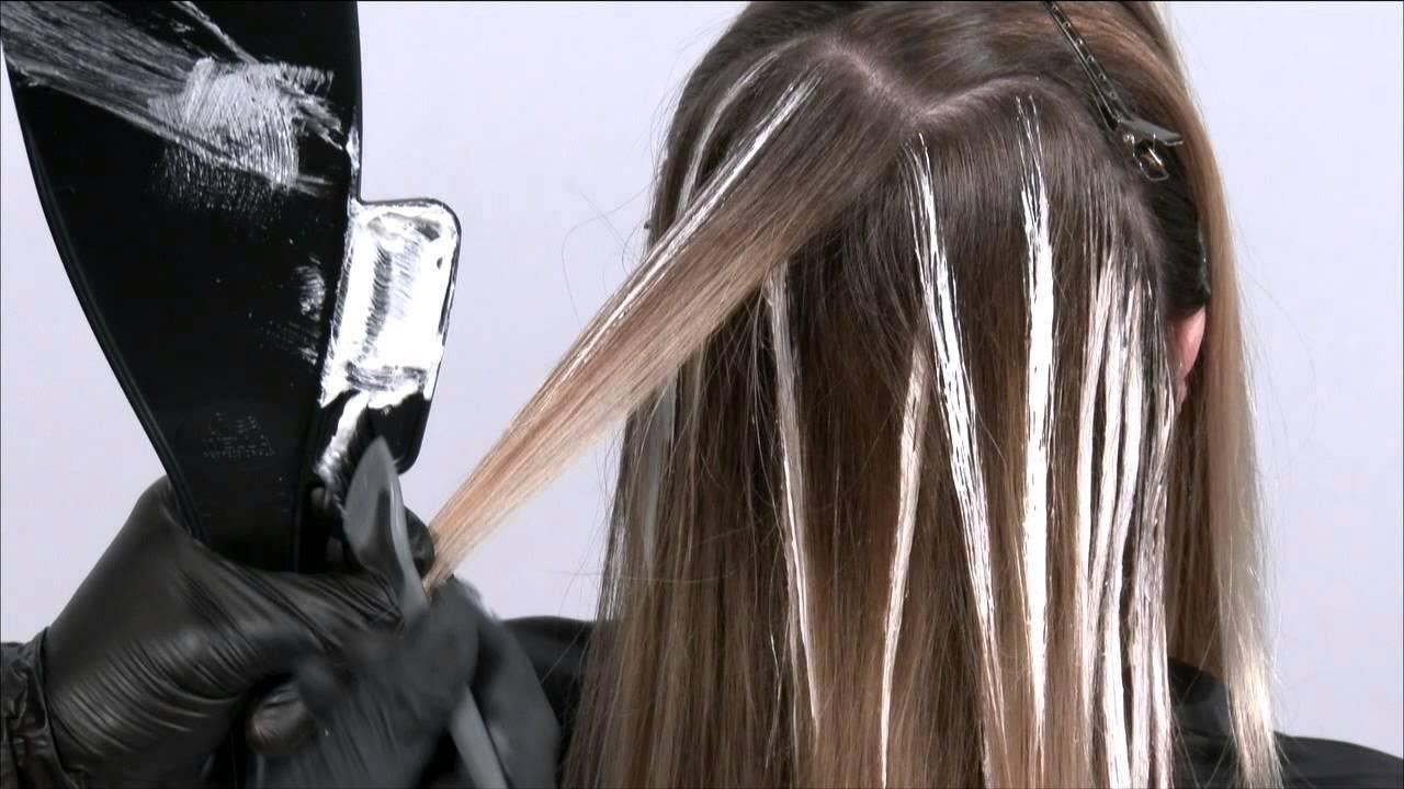 Окрашивание цветное омбре с фото и видео