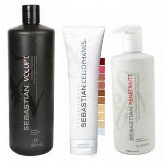 Эффективное ламинирование волос средством sebastian (себастьян) professional laminates cellophanes
