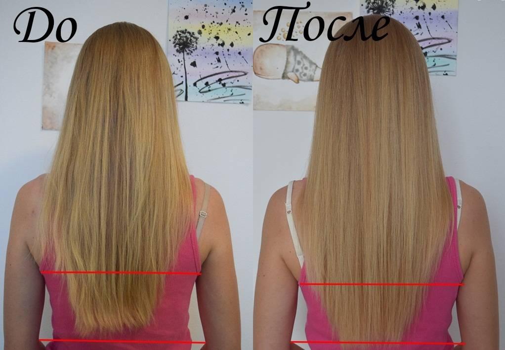 Длинные волосы укорачивают рост
