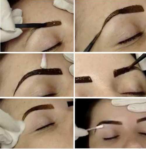 Как пользоваться тенями для бровей: пошаговая инструкция, фото - janet.ru