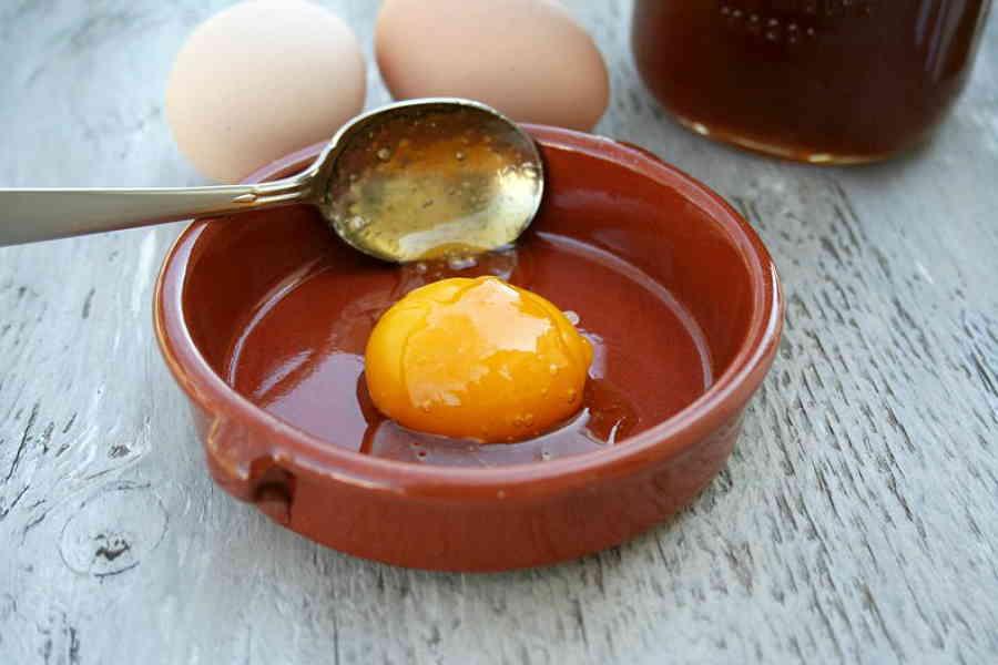 Маски для лица из яйца