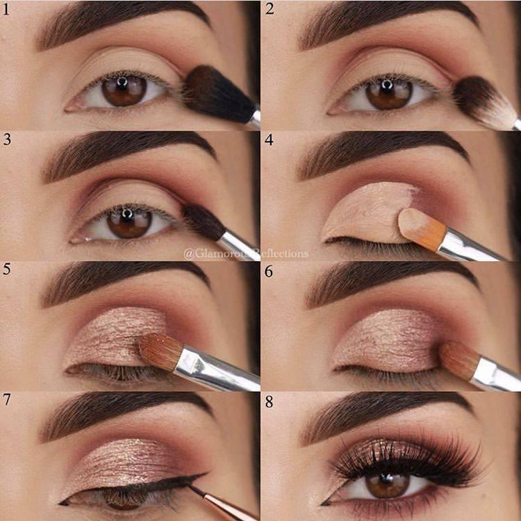Создаем идеальный makeup глаз: правила нанесения теней