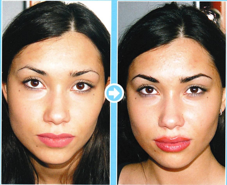 Перманентный татуаж губ: как выбрать мастера, фото до и после процедуры