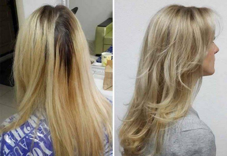 Тонирование волос для блондинок: фото до и после, можно ли делать частое мелирование и тонировку корней в блонд в домашних условиях, а также кому подходят холодные или розовые оттенки?