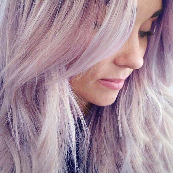 Пепельный цвет волос: фото лучших оттенков