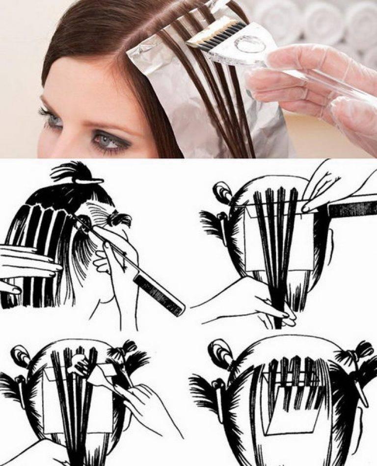 Идеальное брондирование волос: выбор техники, правила выполнения