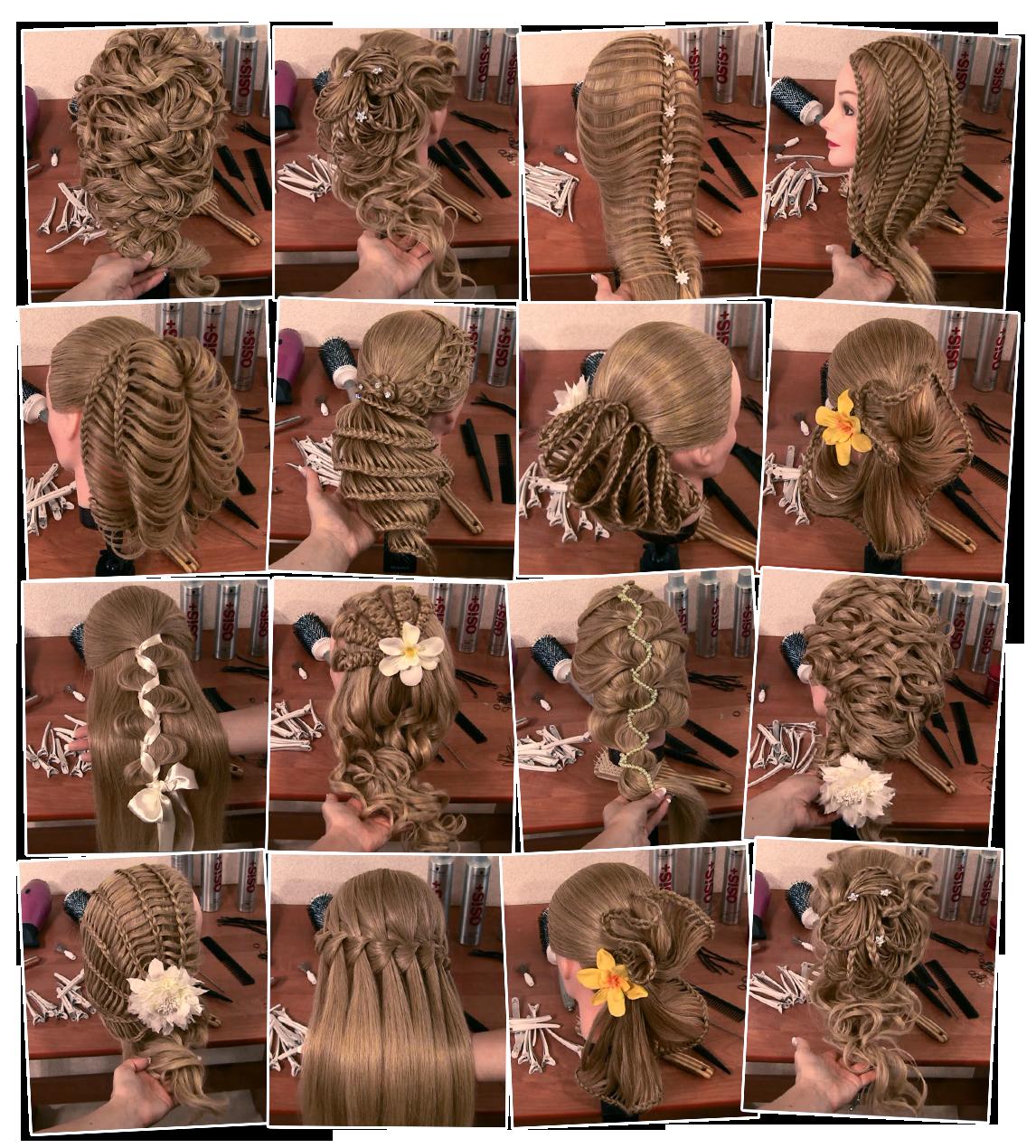 Как плести французскую косу — 9 вариантов причесок